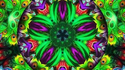 Peacock Kaleidoscope