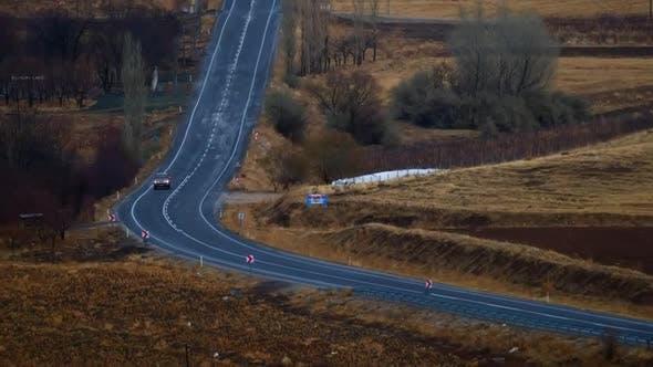 Thumbnail for Rural Road And Car