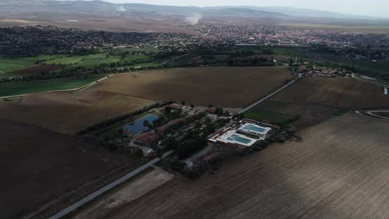 Thumbnail for Village And Pools Aerial View