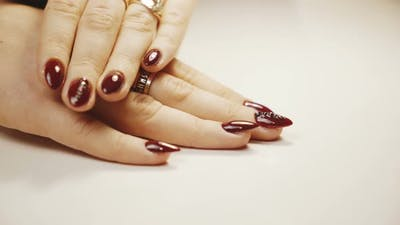 Manicure Concept.
