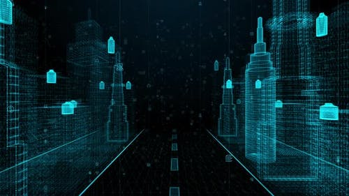 Digital City Technology Digital Data Network 834