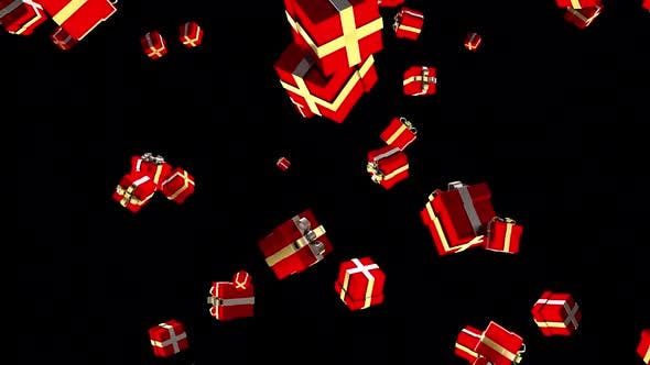Thumbnail for Falling Gift Boxes
