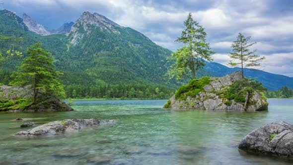 Thumbnail for Cloudy Morning on the Hintersee Lake