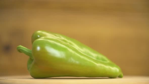 Thumbnail for One Green Pepper on the Table