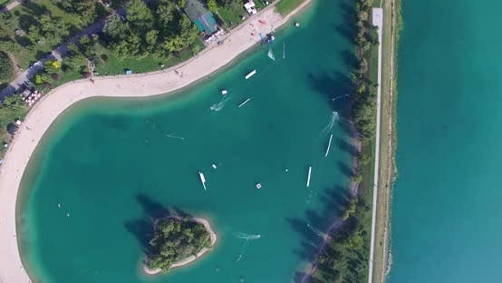 Thumbnail for Aerial view of Wake Park Jarun