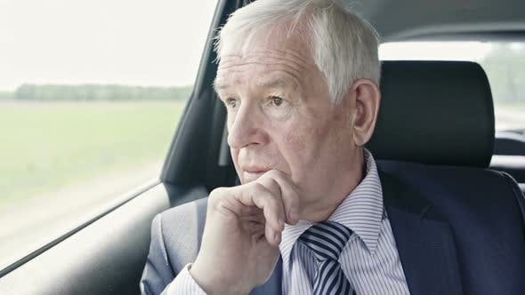 Thumbnail for Worrying Politician in Car
