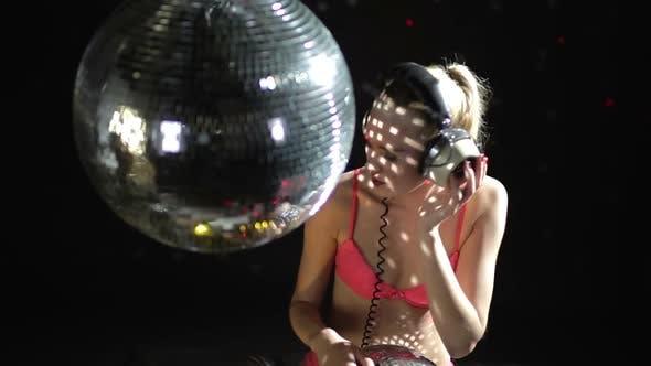 gogo dancer dancing disco