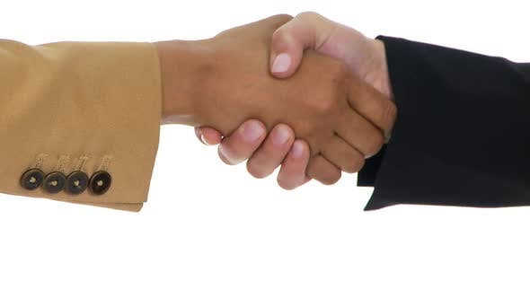 Thumbnail for Close up of shaking hands