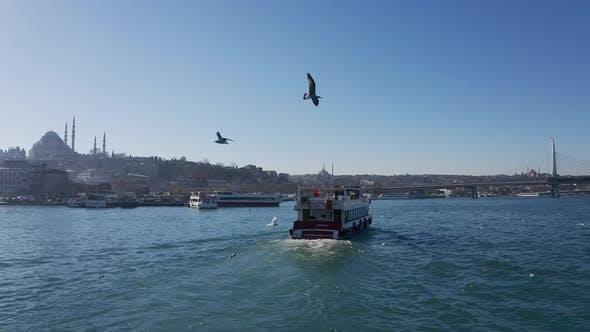 Cover Image for Istanbul Bosphorus And Boat
