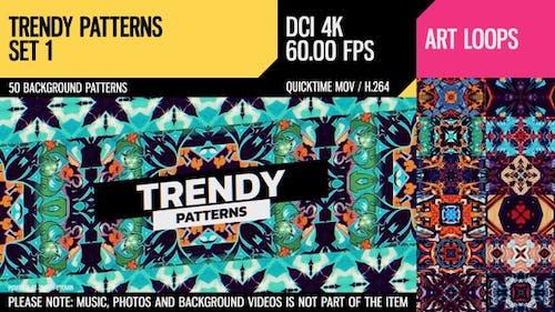 Trendy Patterns (4K Set 1)
