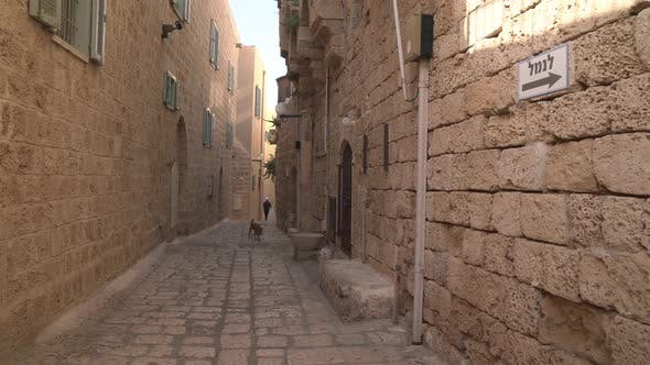 Thumbnail for Stone buildings on a narrow street