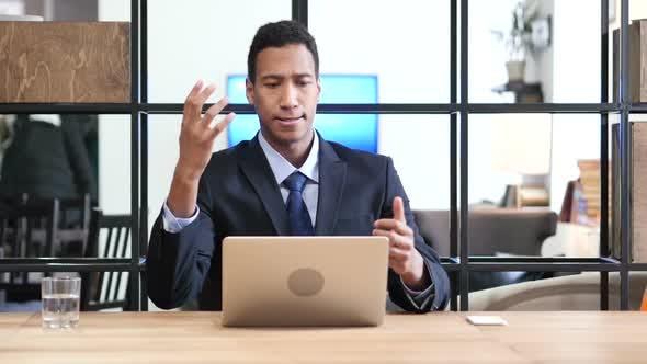 Thumbnail for Black Businessman Reacting to Loss, Failure