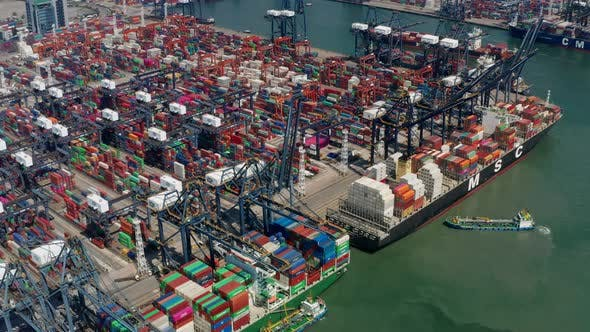 Cover Image for Kwai Chung Cargo Terminal in Hong Kong city