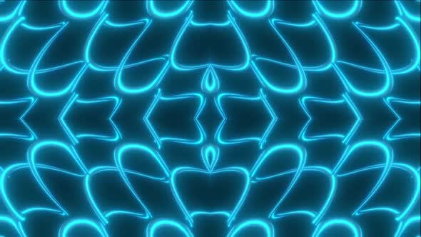 Cover Image for 9 Abstract Blue Shape Vj Pack