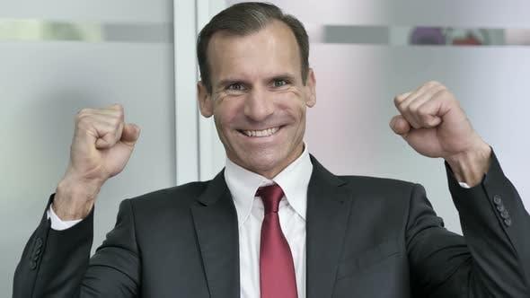 Thumbnail for Businessman Celebrating Success of Business Venture