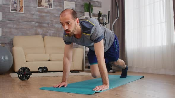Core Home Workout on Yoga Mat