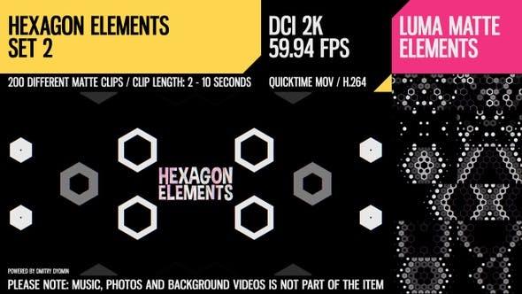Thumbnail for Hexagon Elements (2K Set 2)