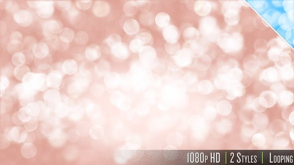 Thumbnail for Soft Bokeh Particles Glitter Falling Background