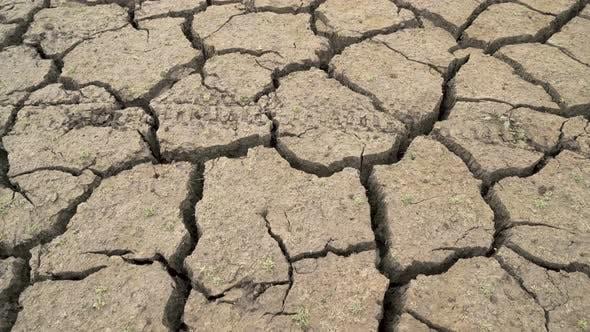 Thumbnail for Cracked Earth Bottom Caused By Bad Drought in Bulgaria. Studena Dam Near Pernik, Bulgaria