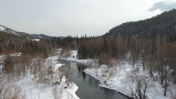 Thumbnail for Winter River in Siberia