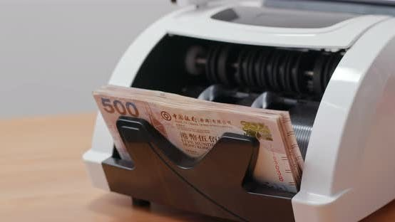 Thumbnail for Money counting machine