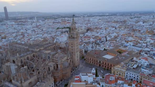 Thumbnail for Seville Cathedral from the Air