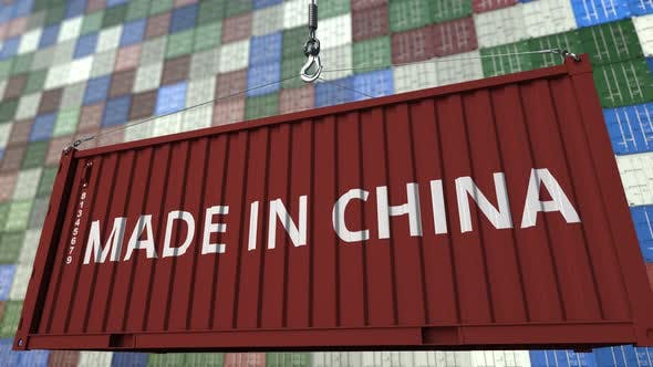 Thumbnail for Container with MADE IN CHINA Caption