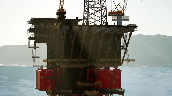 Thumbnail for Oil Drill Rig Platform