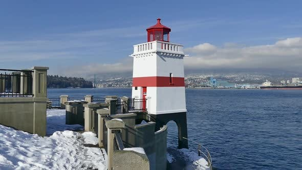 Thumbnail for WInter Vancouver - Burrard Inlet Lighthouse
