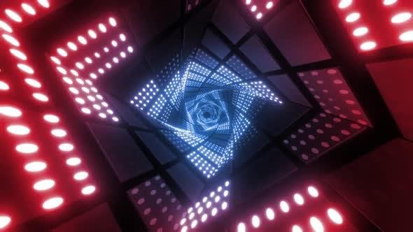 Thumbnail for Colered Led Light Tunnels 4k