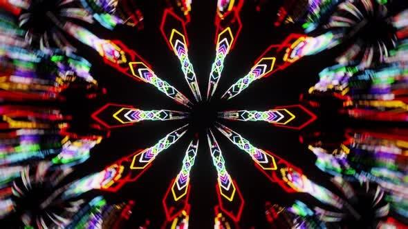 Acid Kaleidoscope Vj Loop 4K