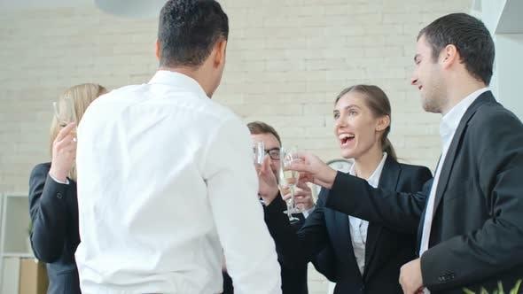 Thumbnail for Business Team Celebrating Achievement