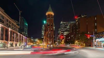 Toronto, Canada - Timelapse  - Wellington Street East