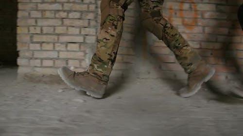 Rangers During Military Anti Terrorism Operation