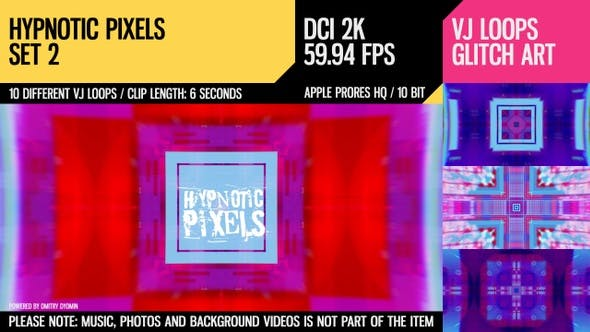 Thumbnail for Hypnotic Pixels (2K Set 2)