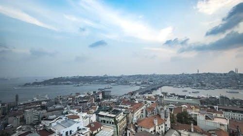 Istanbul Galata Sunset Time-Lapse