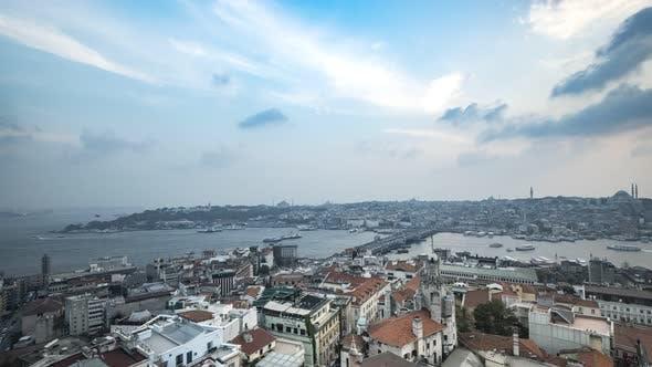 Thumbnail for Istanbul Galata Sunset Time-Lapse