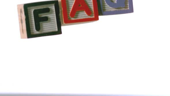 Blocks spelling faq falling over