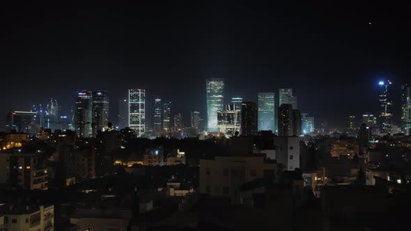 Thumbnail for Tel Aviv Night Cityscape