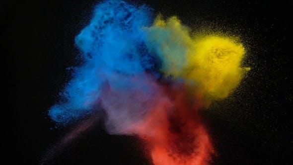 Primary Color Powder