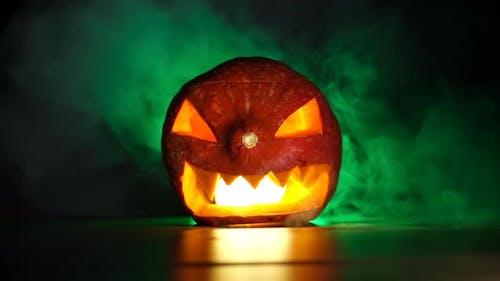 Halloween Spooky Pumpkin