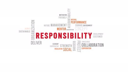 Word Cloud Responsibility
