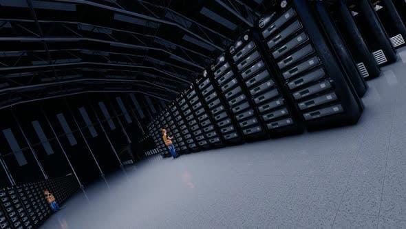 Datenfabrik und Worker