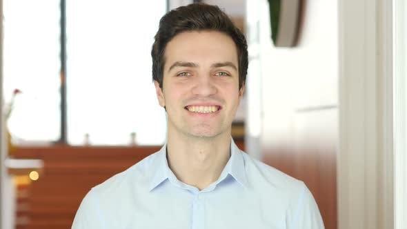 Smiling Man, Indoor