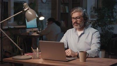 Portrait Of Call Center Operator