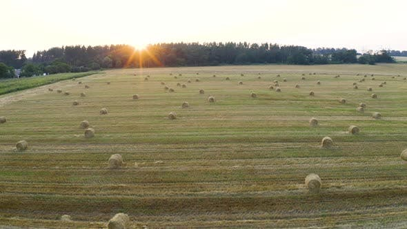 Thumbnail for Stack Of Hay Sunset