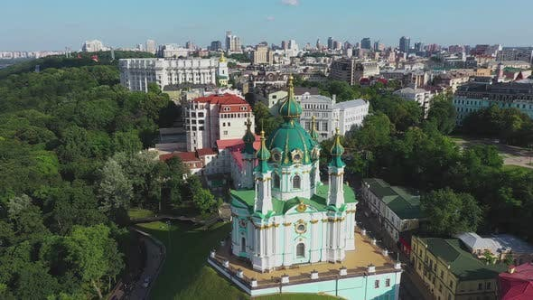St. Andrew's Church Kyiv Ukraine