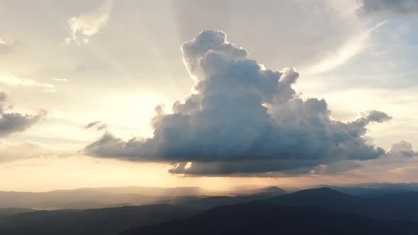 Thumbnail for Evening Timelapse Clouds with the Late Sun