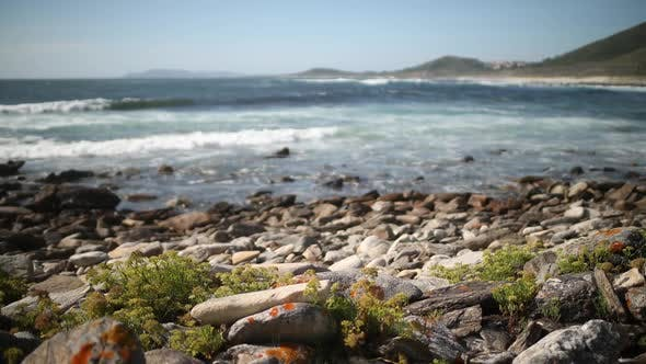 Thumbnail for galicia cliff sea ocean timelapse wild environment nature