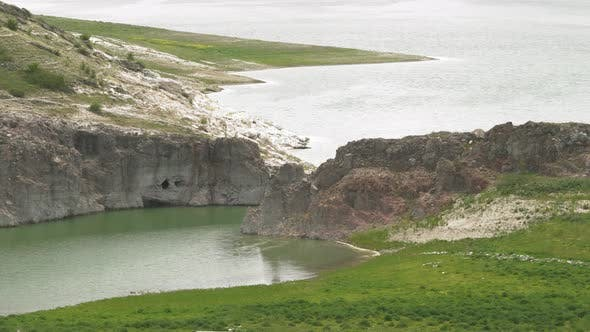 Thumbnail for Narrow Rocky Strait on Both Sides of the Water